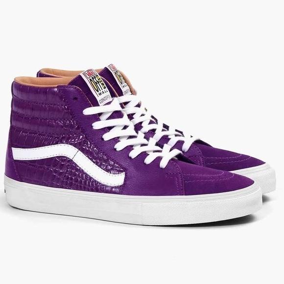 concepts x vans shoes